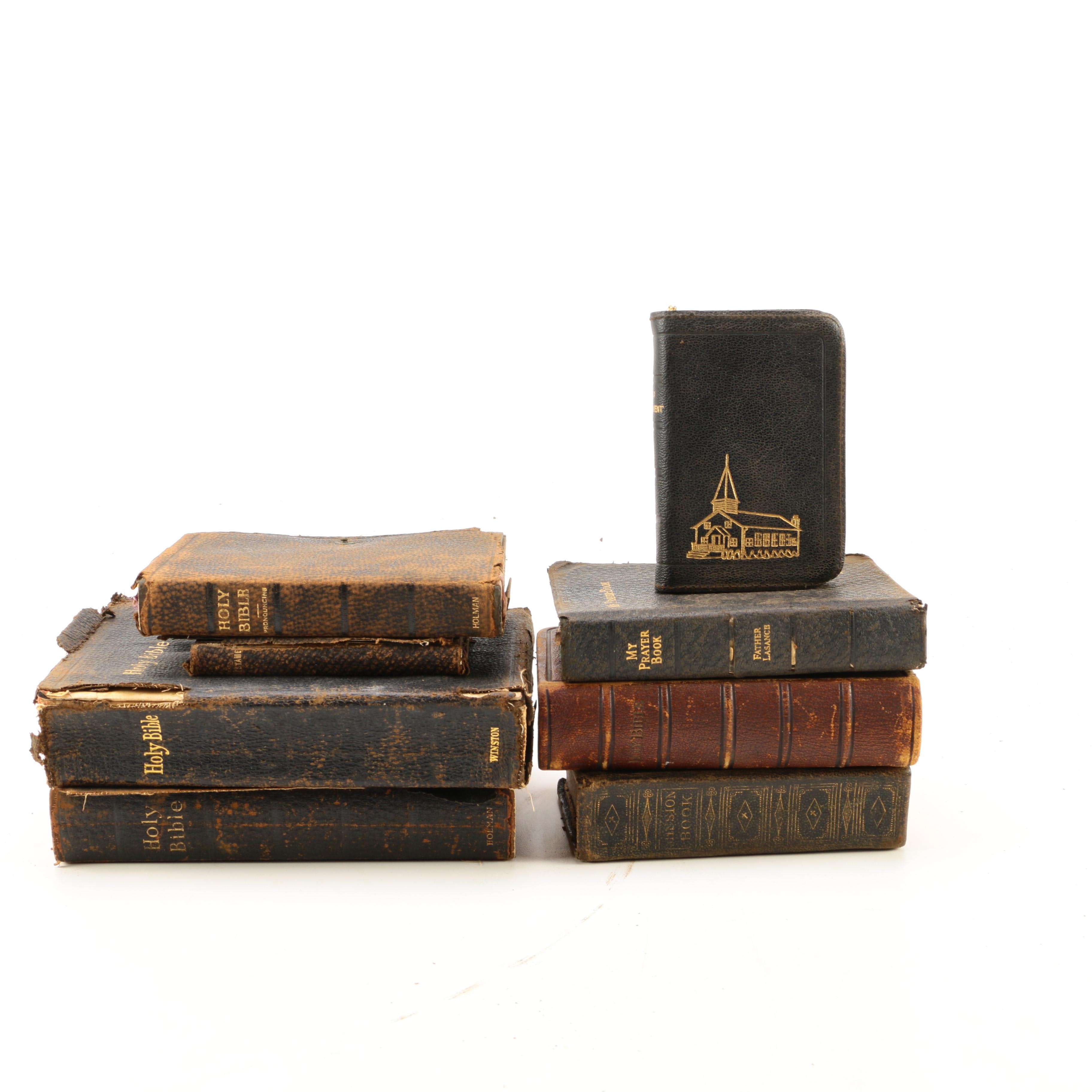 Vintage Christian Books and Bibles