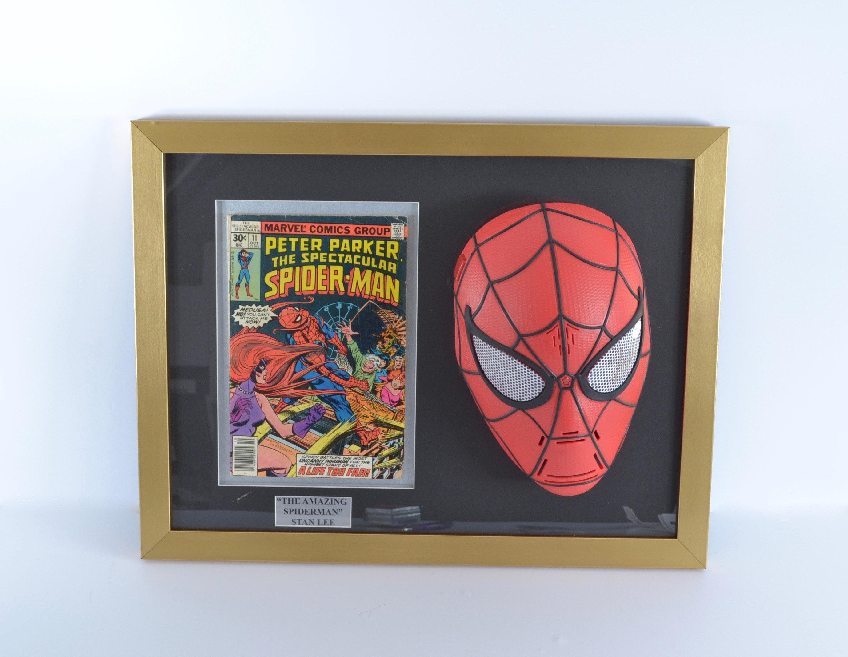 Stan Lee Autographed Spiderman Display - JSA COA