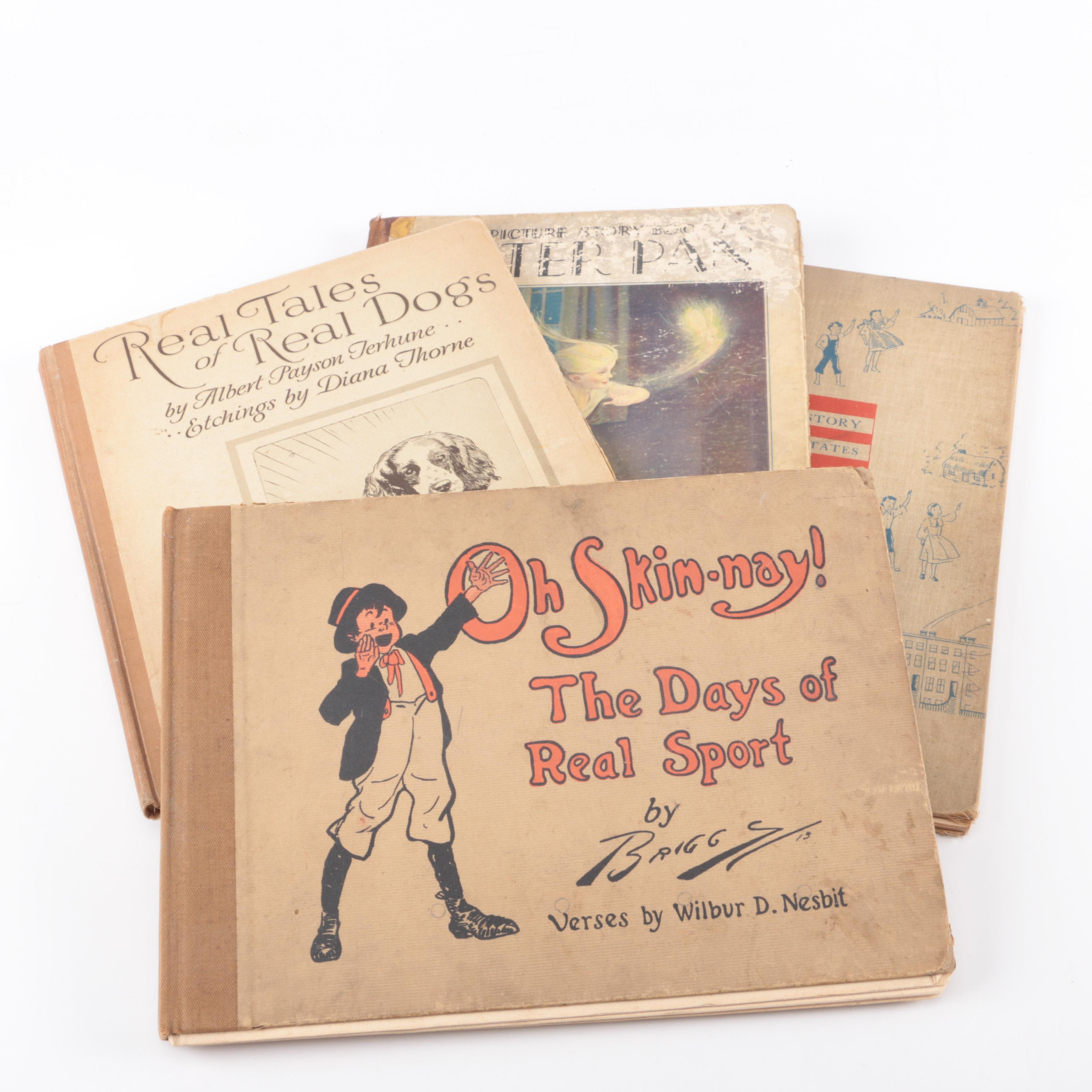 """Collection of Children's Books Including """"Peter Pan"""""""