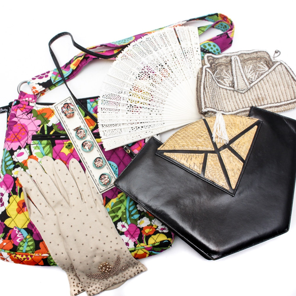 Women's Vintage and Contemporary Purses and Accessories