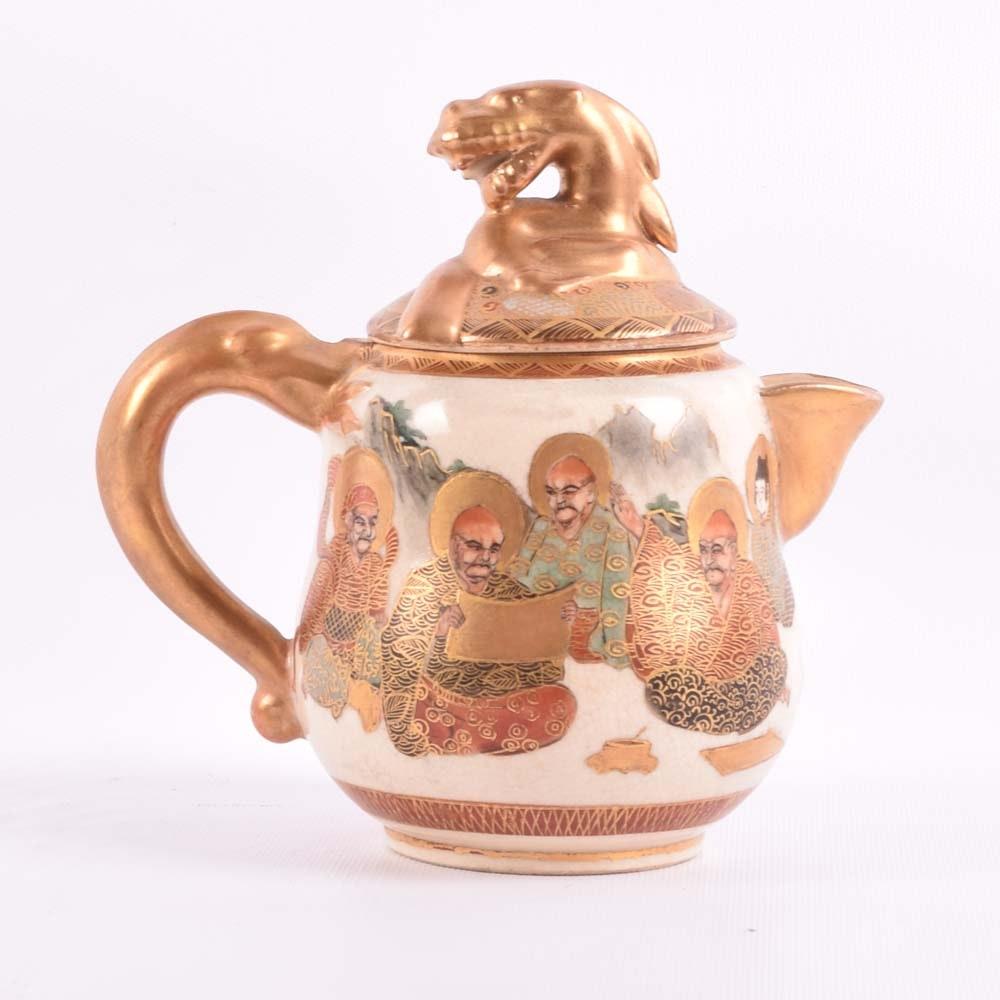Hand Painted Satsuma Teapot