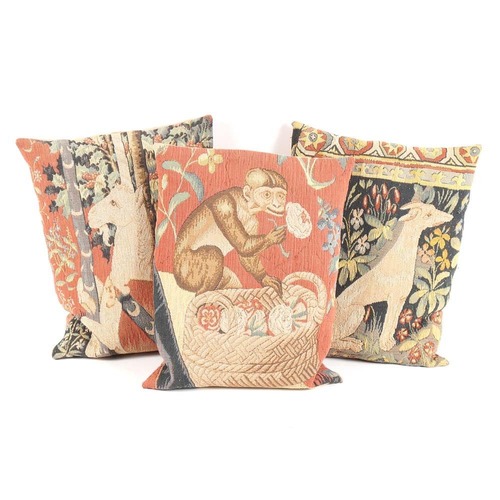Tapestry Inspired Toss Pillows