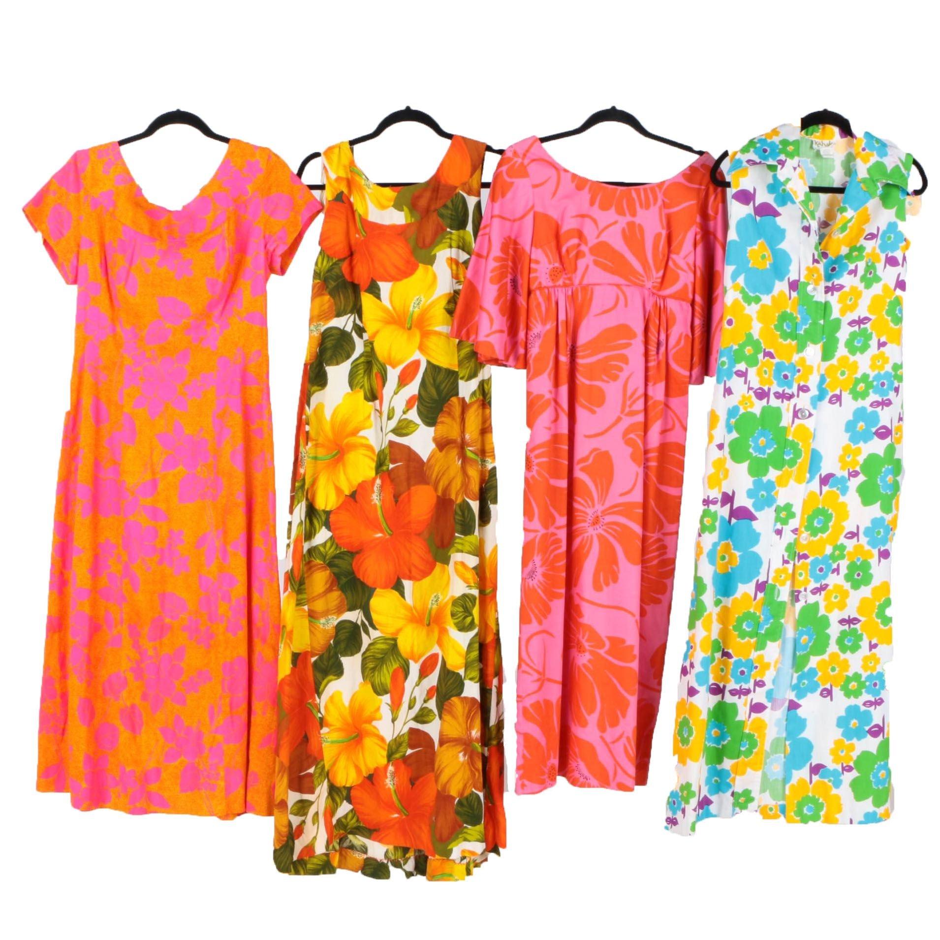 Vintage Hawaiian Women's Dresses