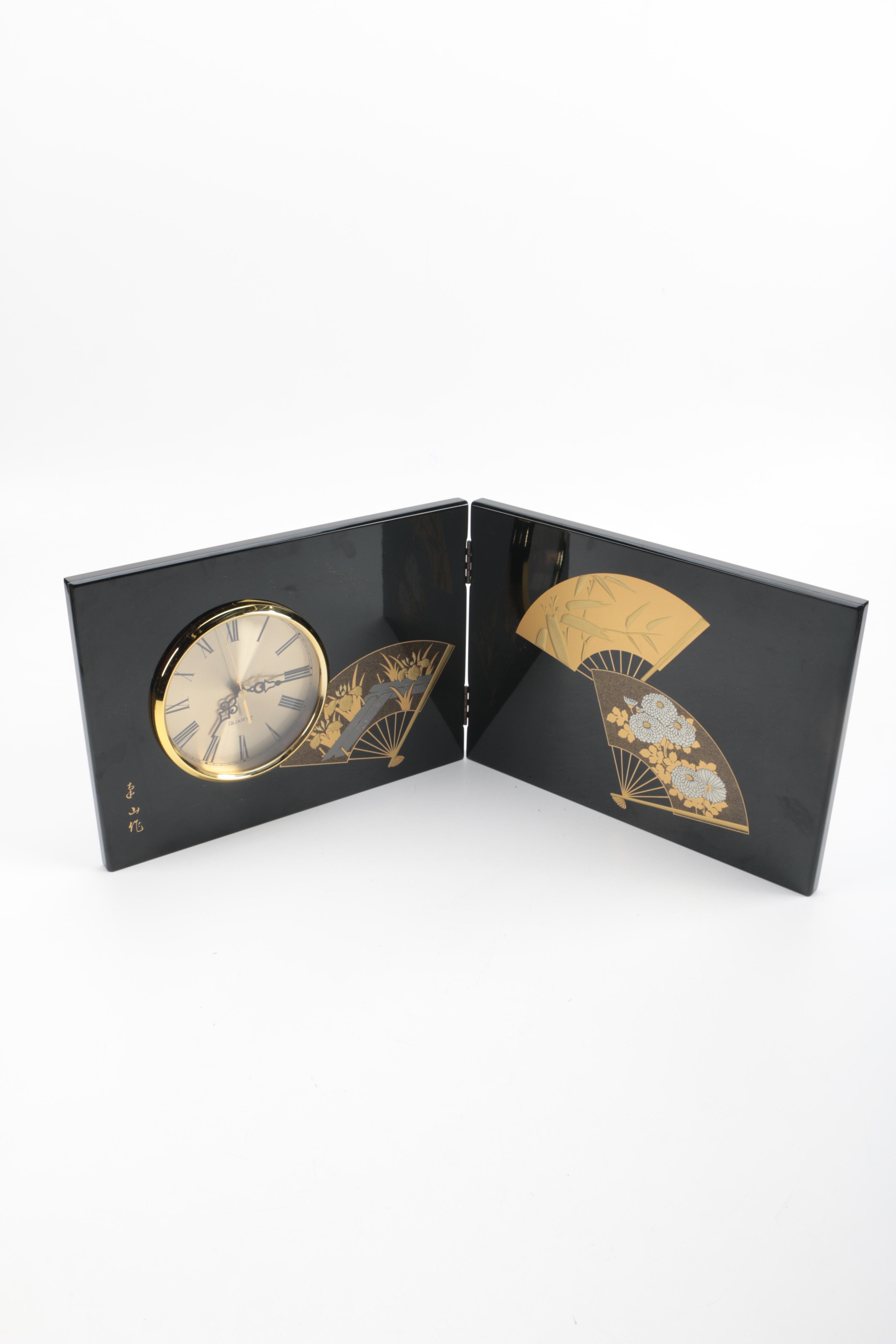 Asian Themed Folding Clock