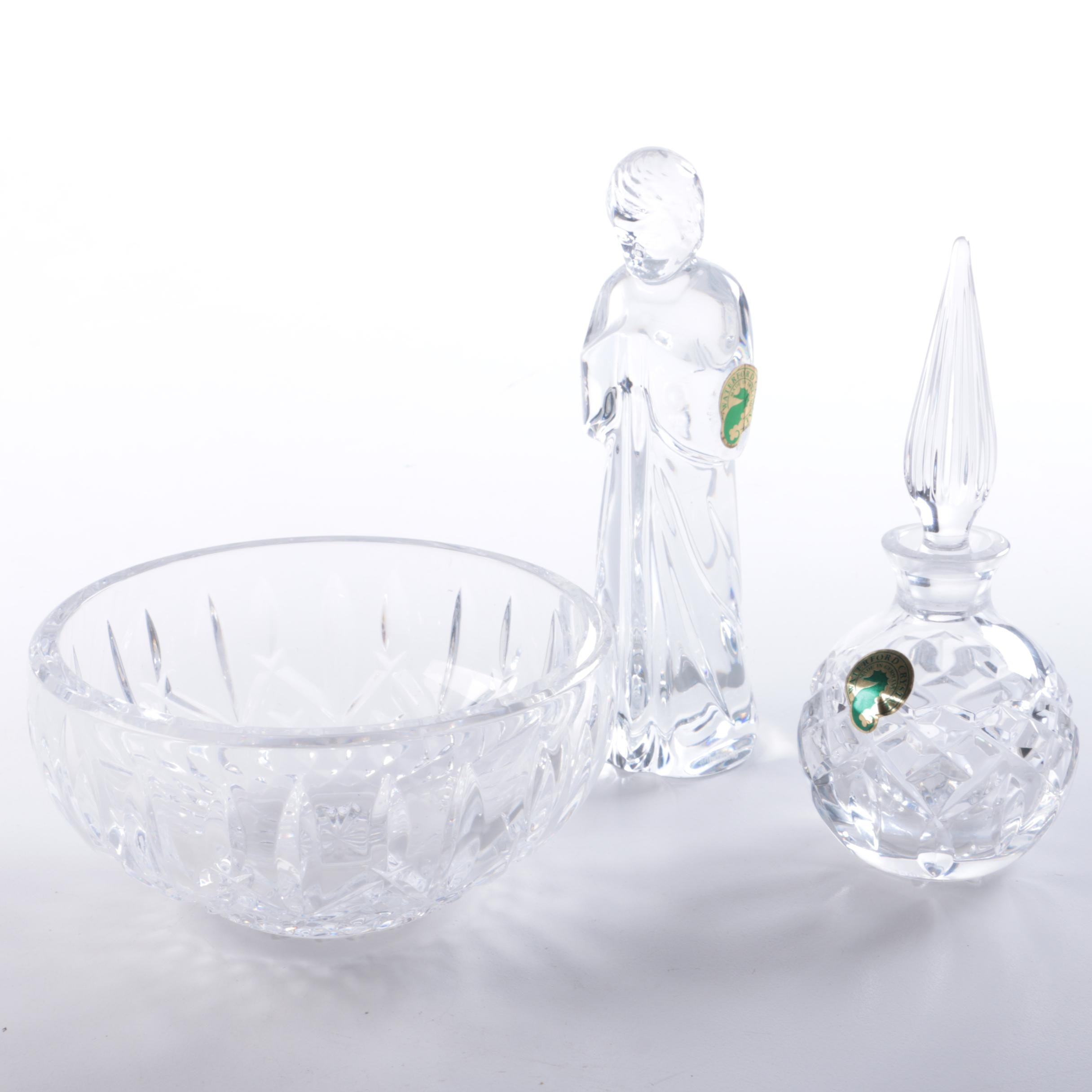 Three Waterford Crystal Decorative Pieces