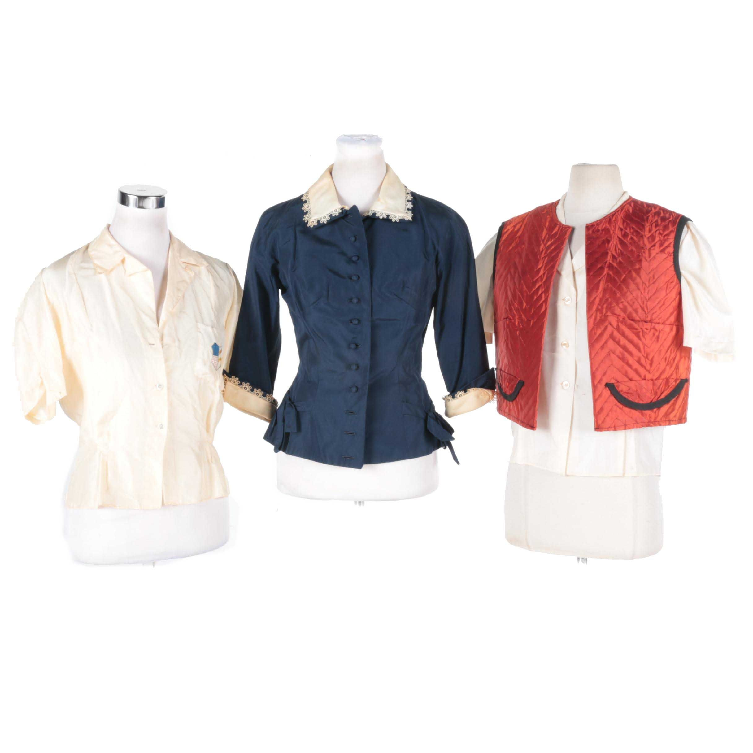 Women's Vintage Tops Including Best & Co.