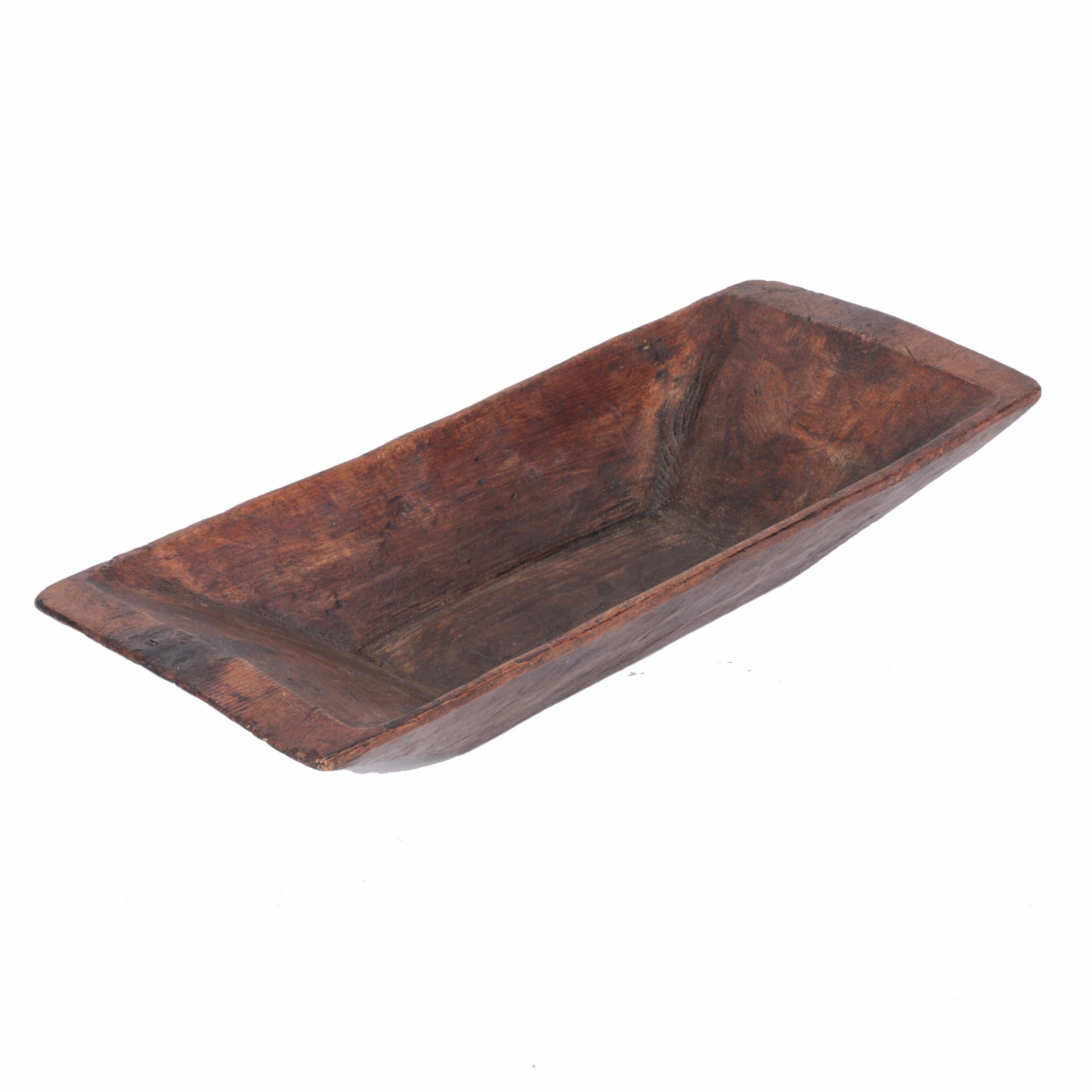 Antique Wooden Dough Trough Trencher