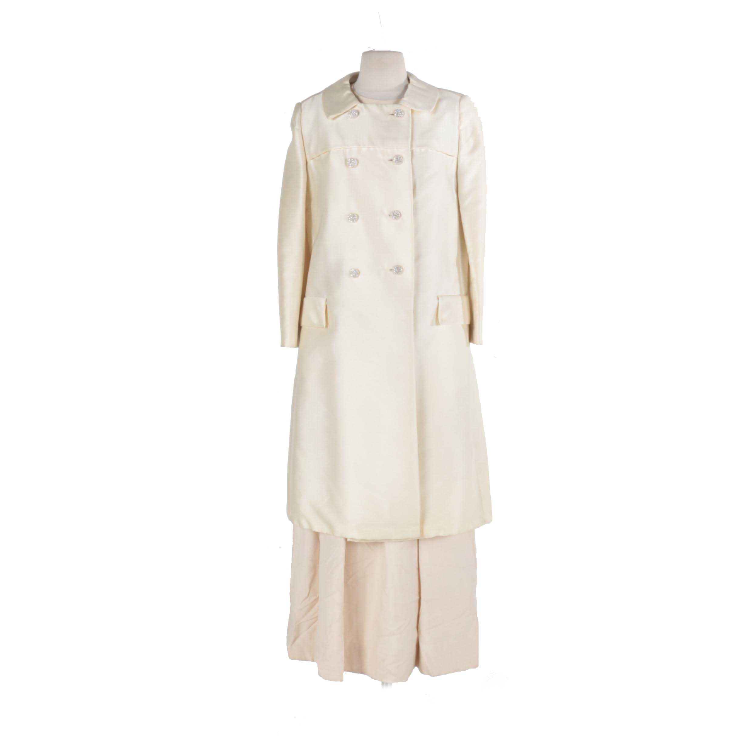 Vintage Women's Coat and Dress