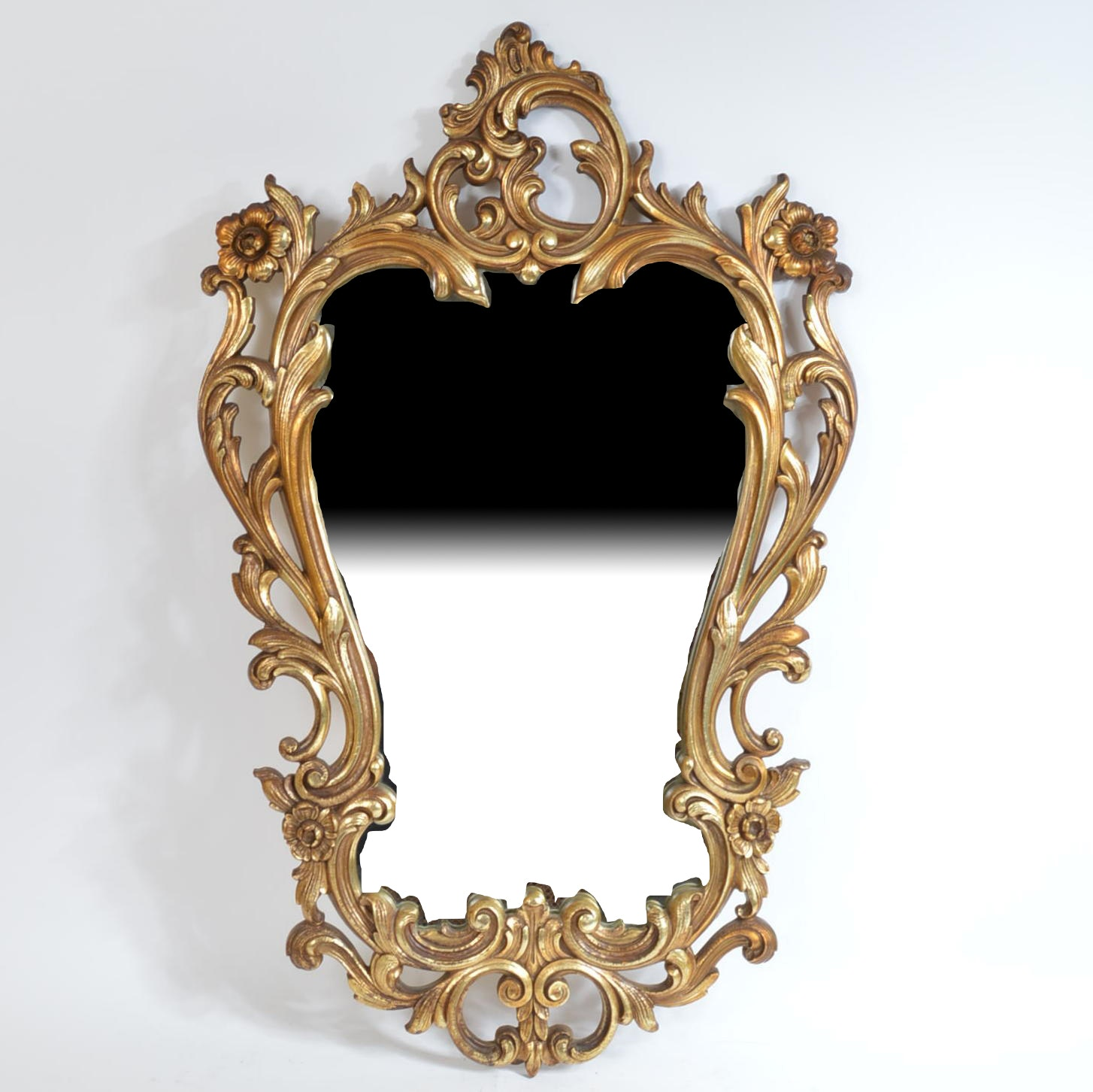 Ornate Gilt Wall Mirror