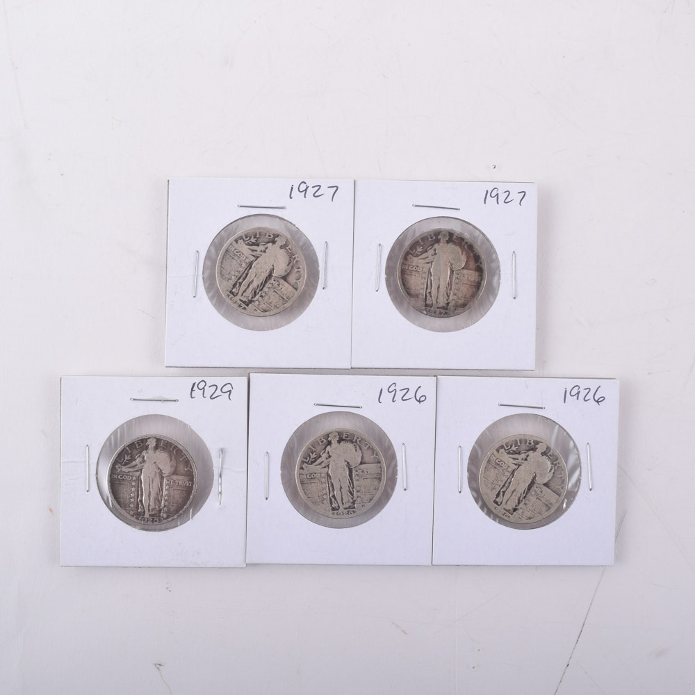 Assortment of Standing Liberty Quarters