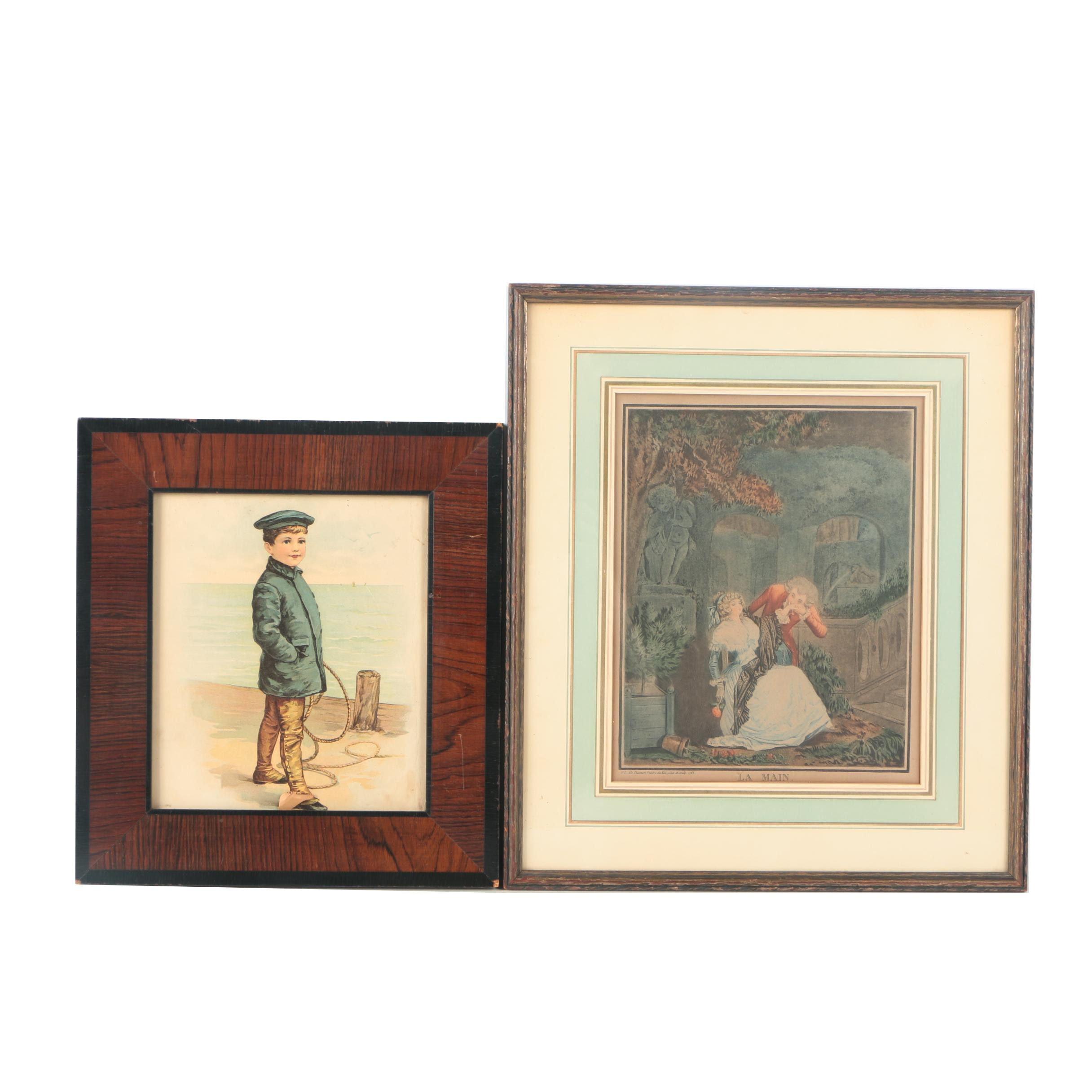 Assortment of Antique Prints