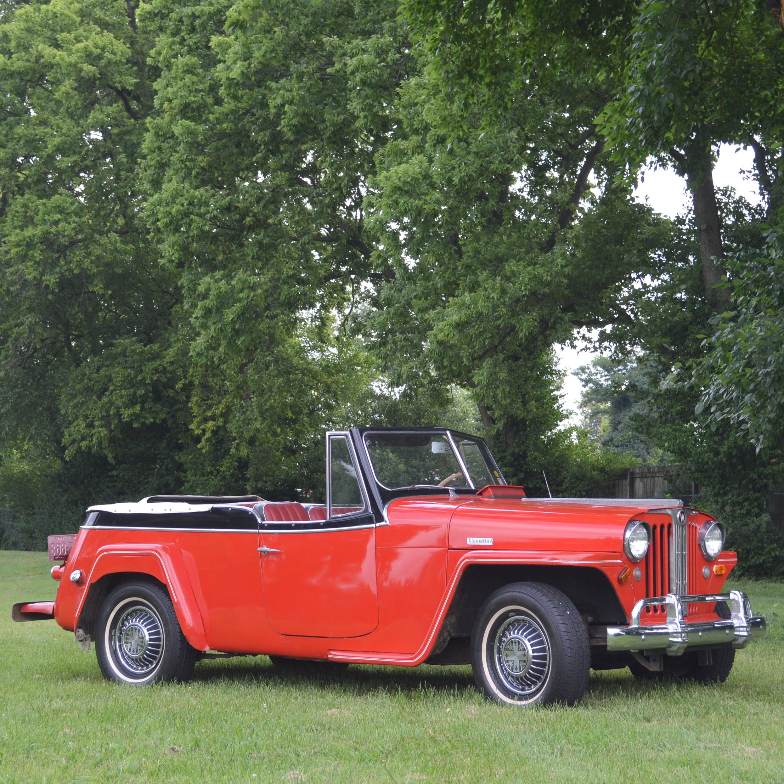 1949 Willy's Overland Soft Top Jeepster