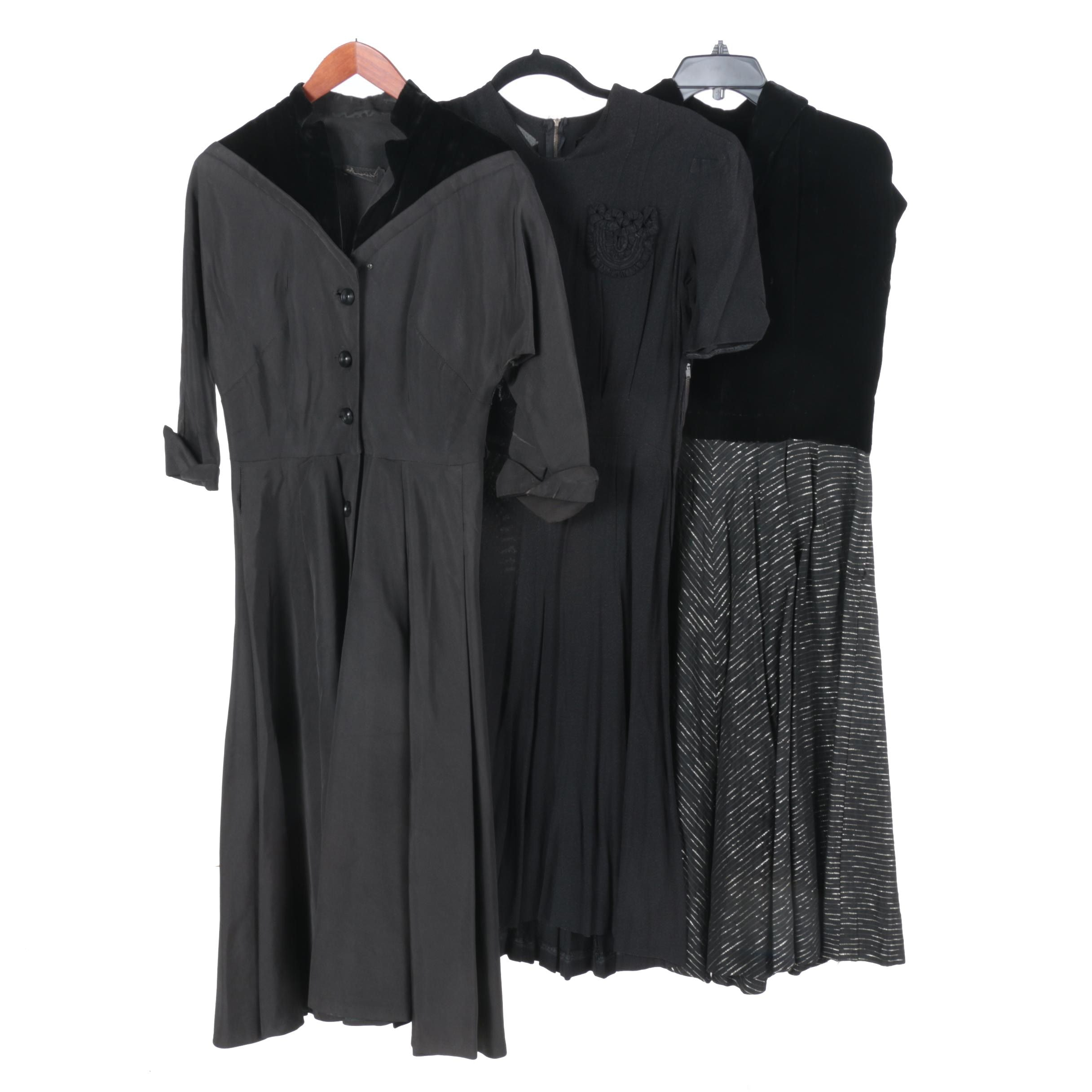 Mid Century Black Ladies' Dresses