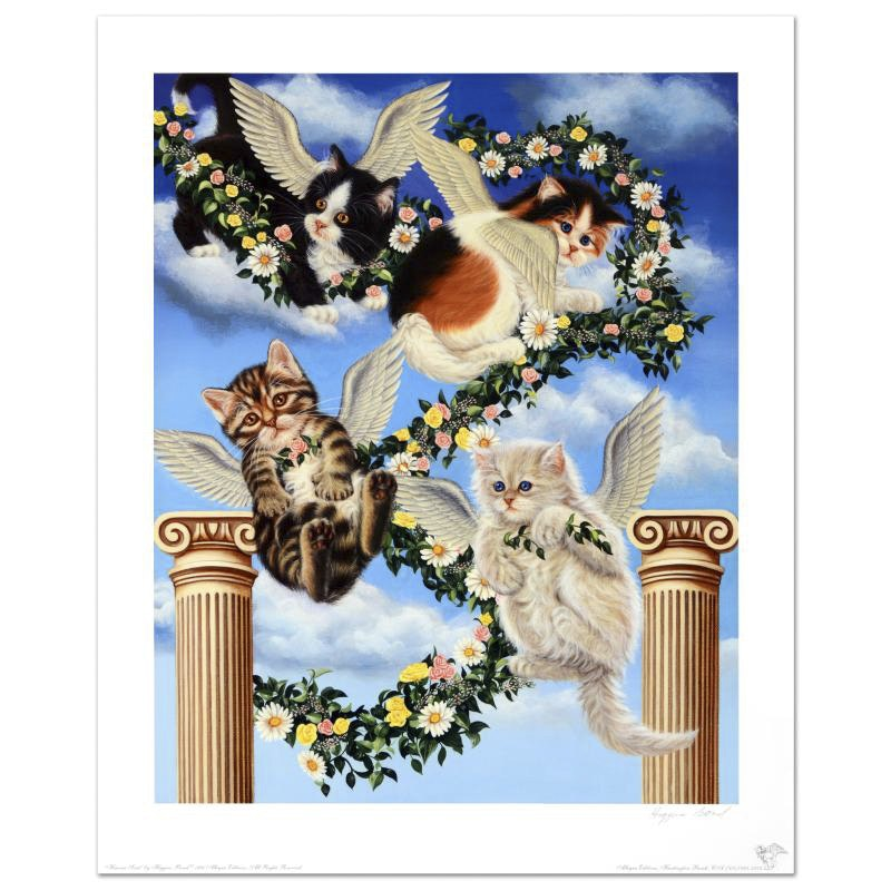 """Heaven Sent"" Limited Edition Lithograph by Barbara Higgins-Bond"
