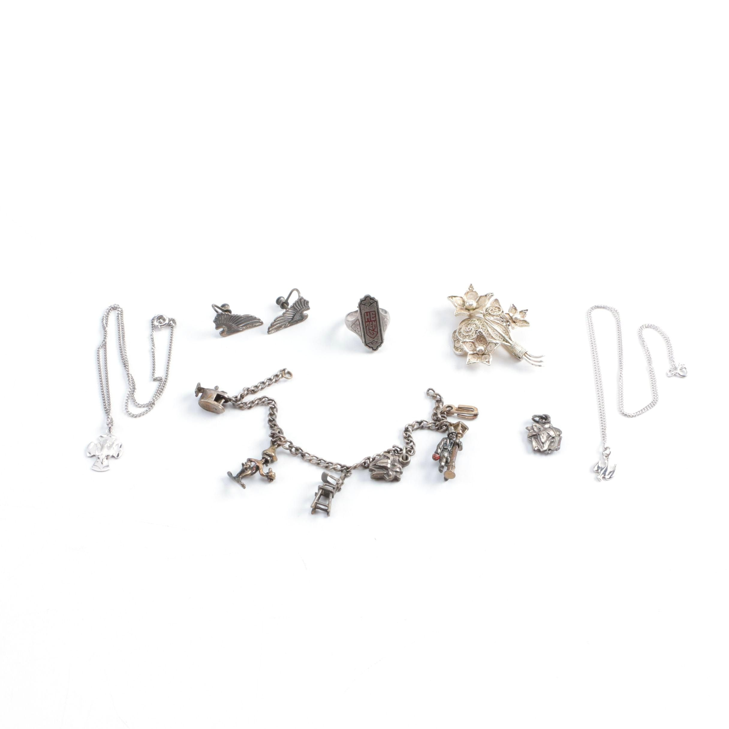 Religious Themed Sterling Silver Jewelry