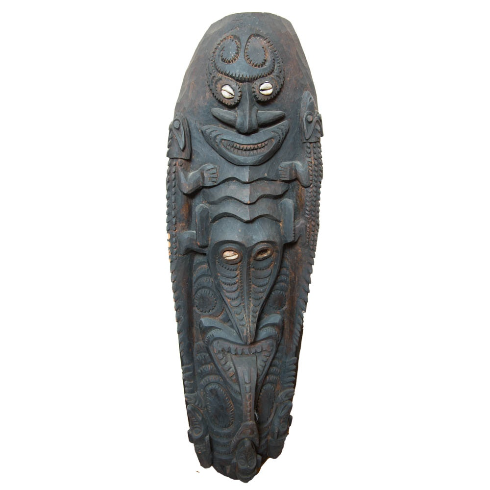 Sepik River Valley Wall Hanging