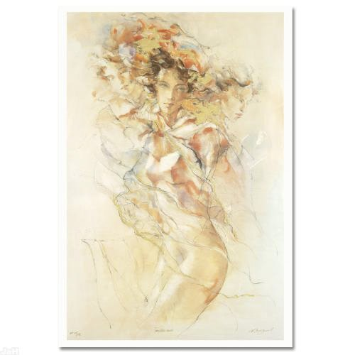 """Gary Benfield Limited Edition Serigraph """"Tenderness"""""""