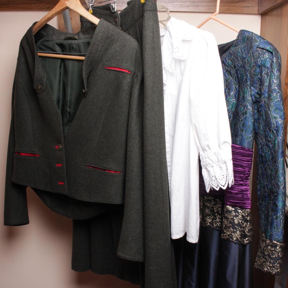 Women's Vintage Dress Clothes