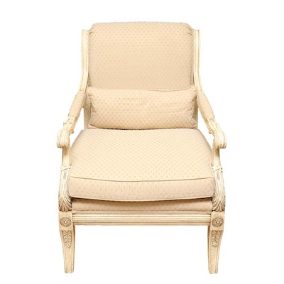 Upholstered Arm Chair by Henredon