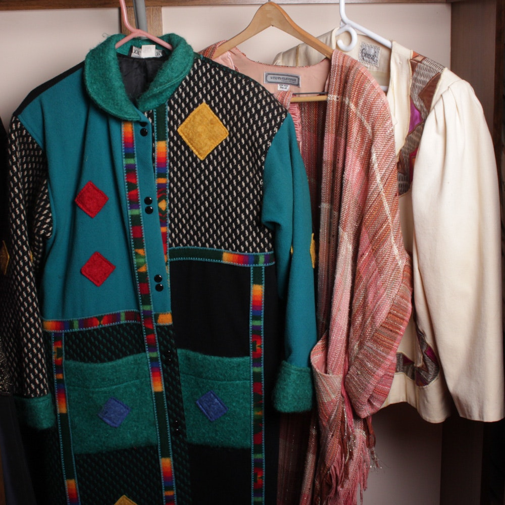 Vintage Textile Arts Inspired Garments