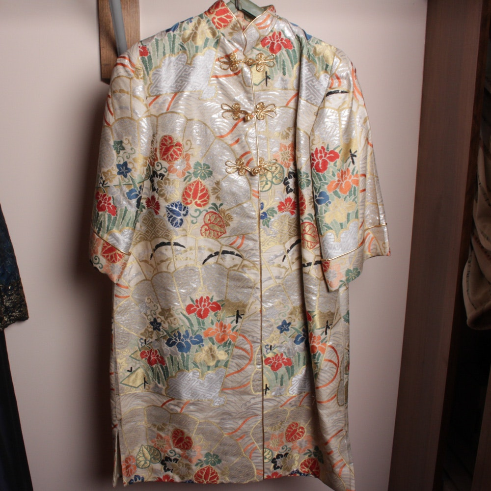 Vintage Handcrafted Chinese Inspired Coat