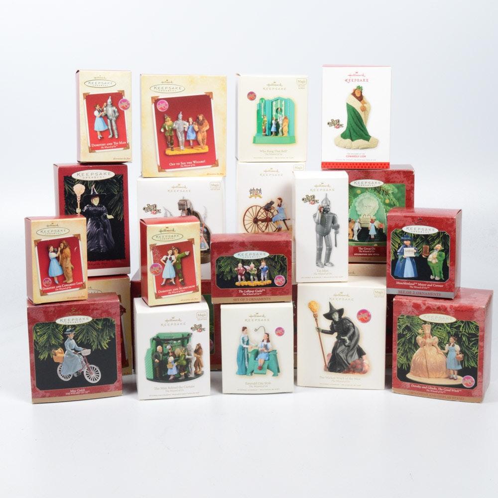 "Hallmark Keepsake ""Wizard of Oz"" Ornament Collection"