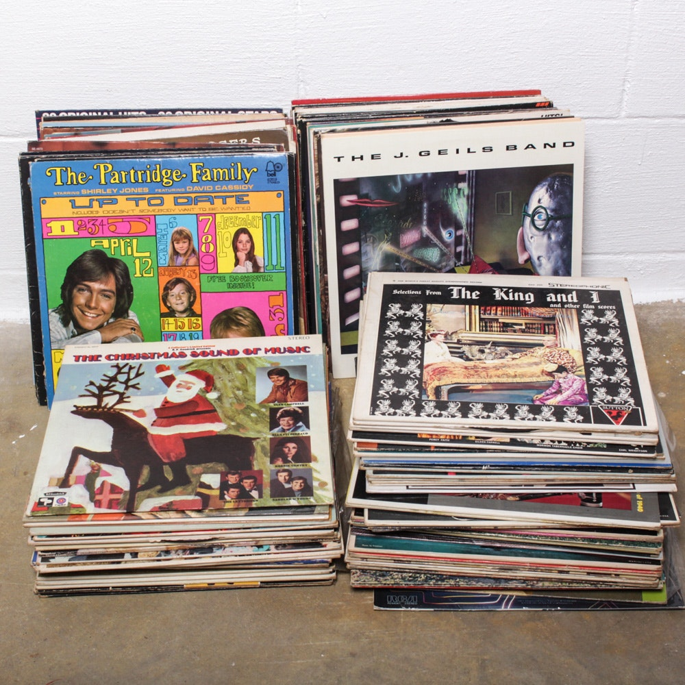 Classic Rock, Pop, Orchestral and Other Vintage LPs