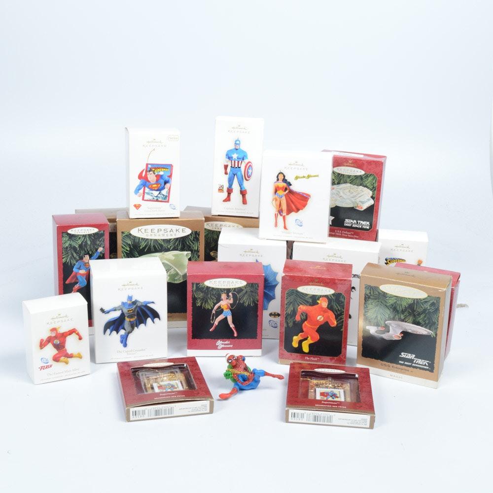 Hallmark Keepsake Super Hero Ornaments