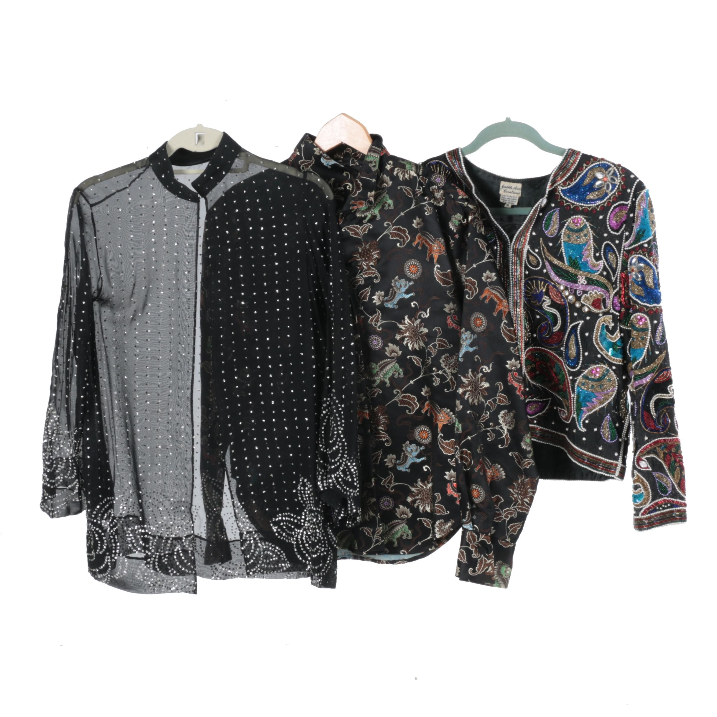 Women's Tops Including Flatiron and Judith Ann Creations
