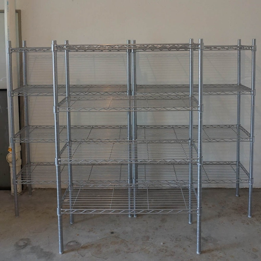 Stainless Steel Wire Shelving Units : EBTH