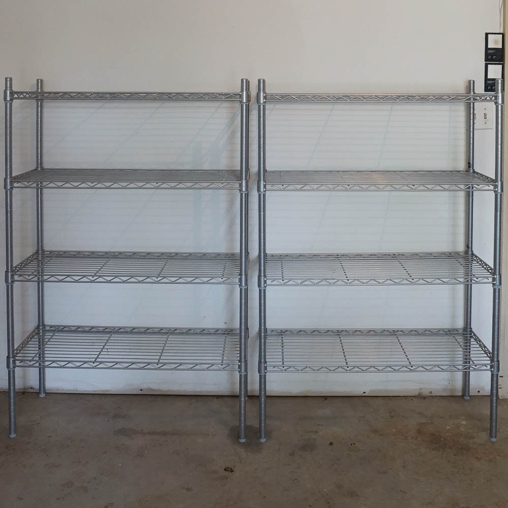 Stainless Steel Wire Shelving Units