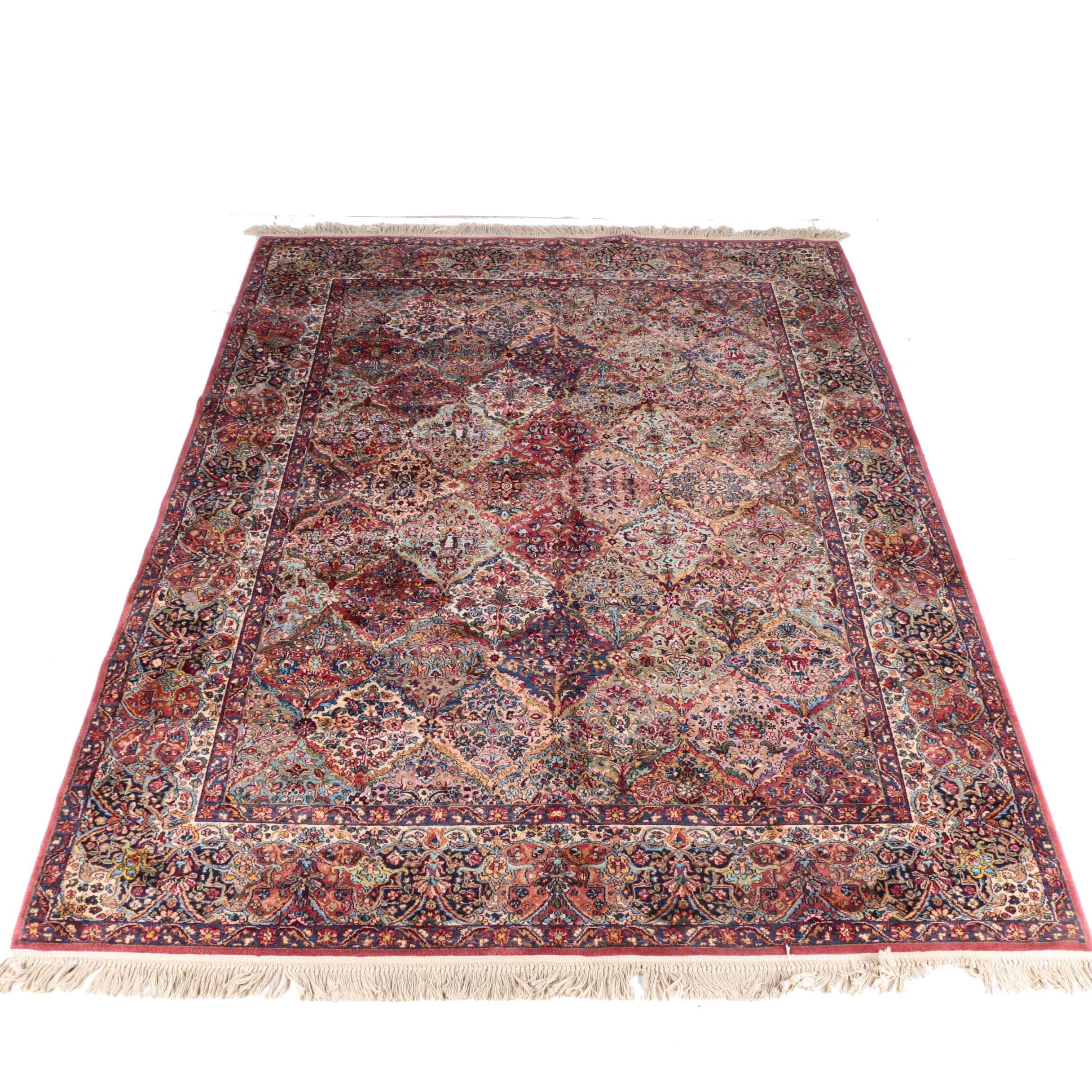 "Karastan Multicolored ""Panel Kirman"" Wool Rug"