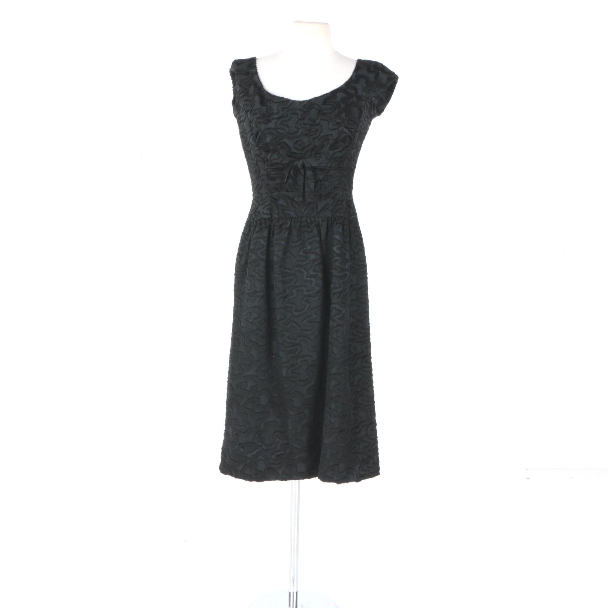 Vintage Neusteters Black Dress