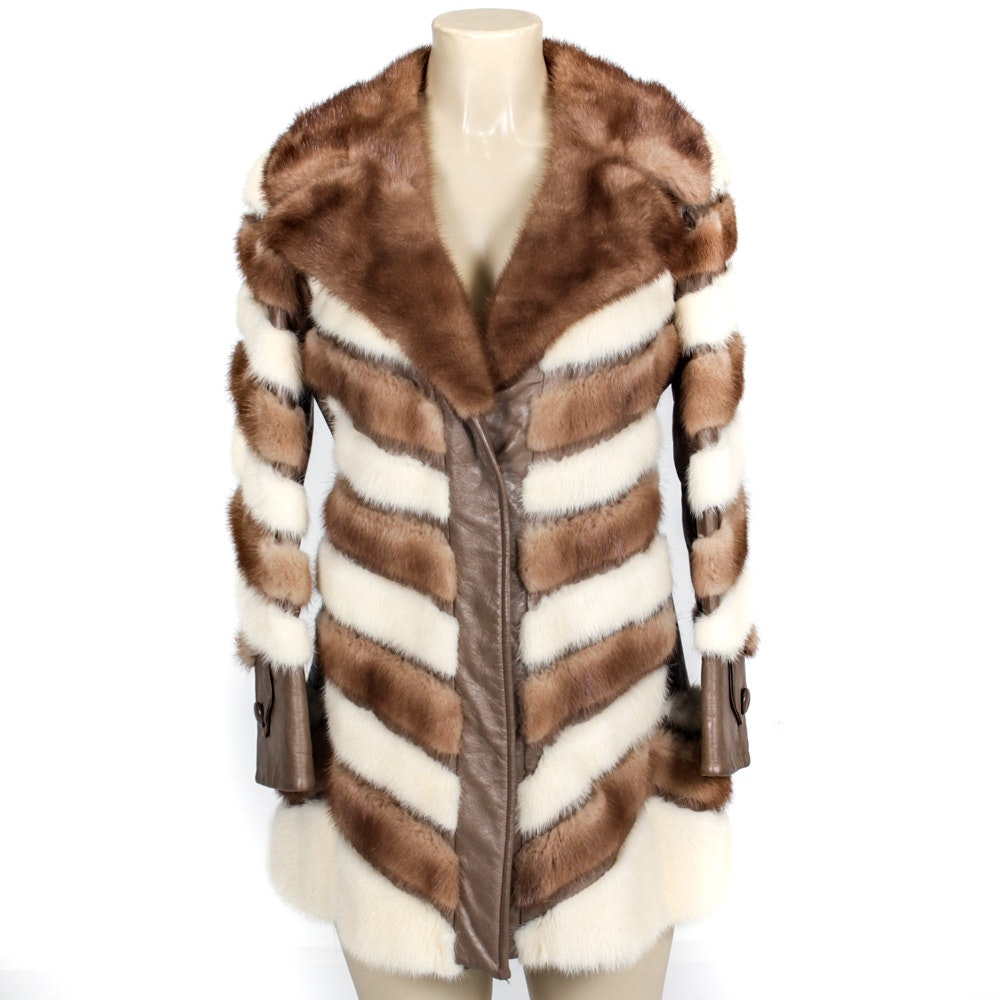 Vintage Juan de Cirota Mink Fur Jacket