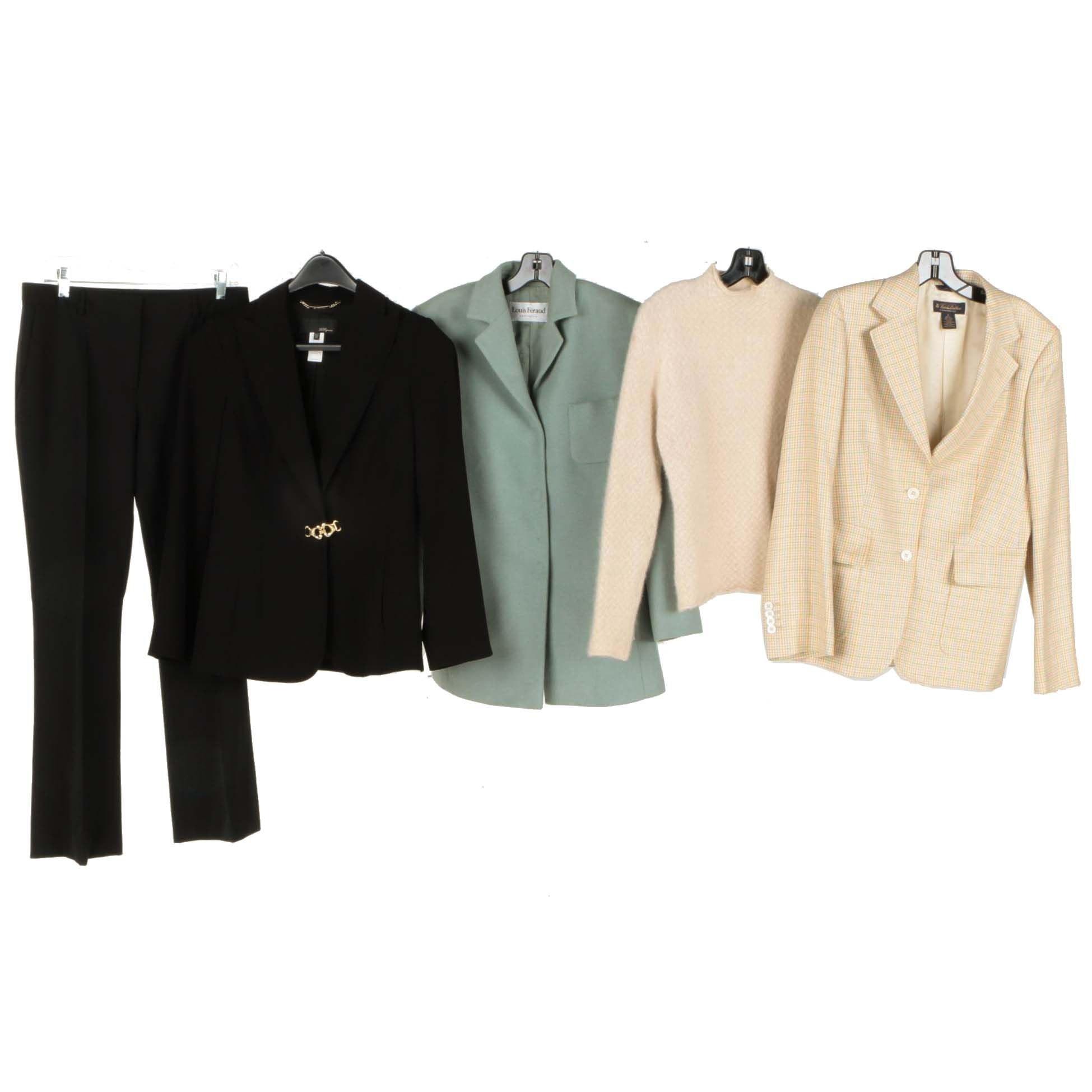 Women's Clothing Including a Louis Feraud Blazer and Vionnet Dress Pants
