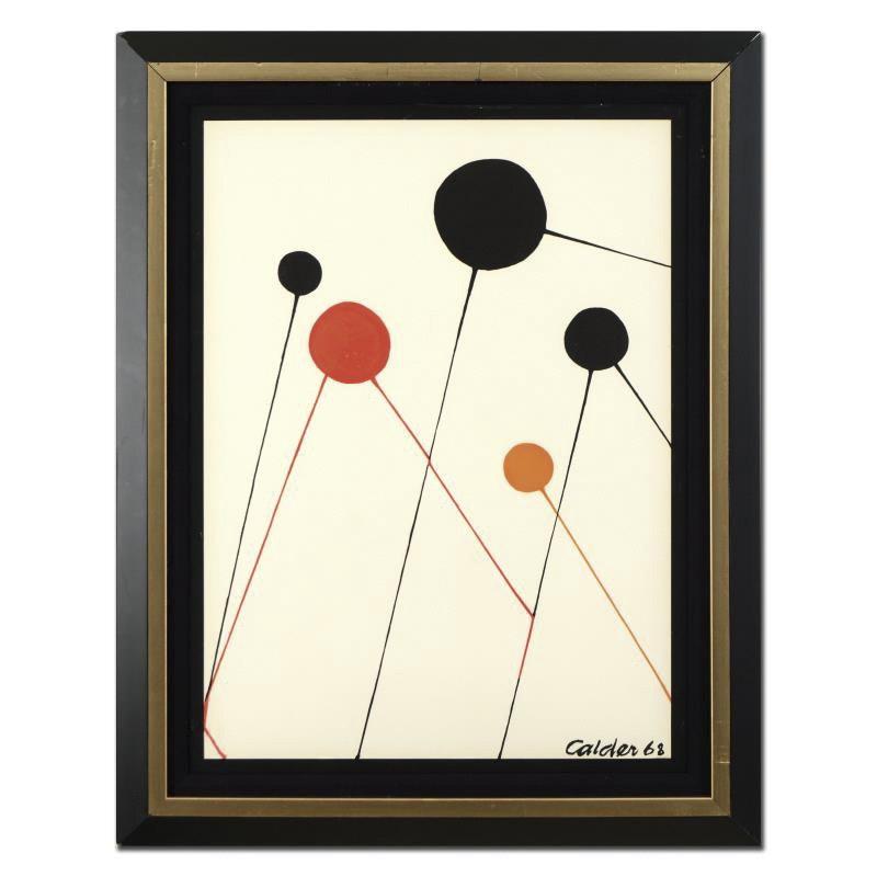 """Alexander Calder Lithograph """"Balloons"""""""