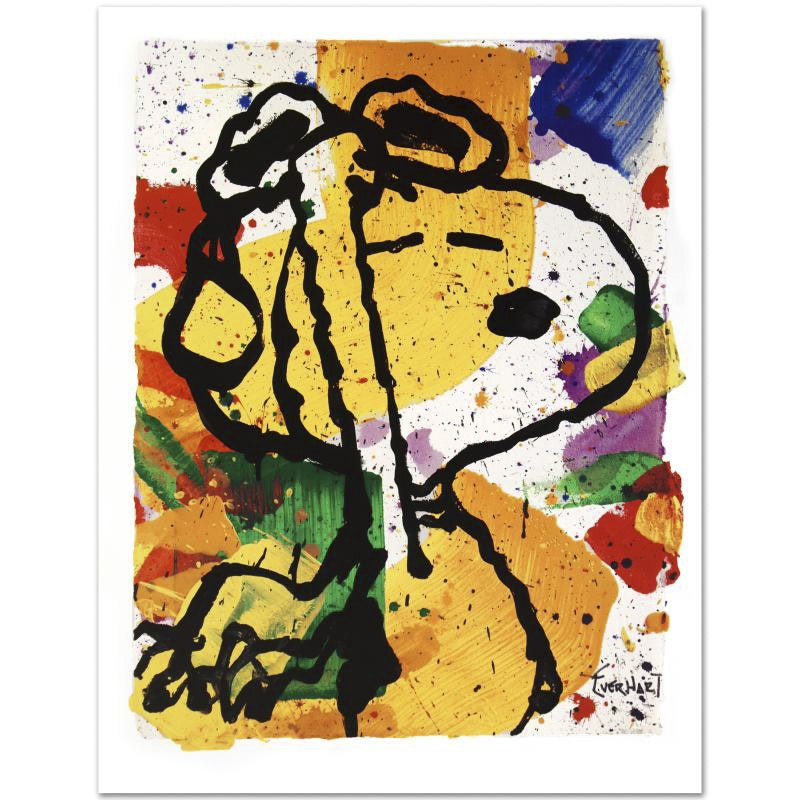 """Salute"" Limited Edition Lithograph by Tom Everhart"