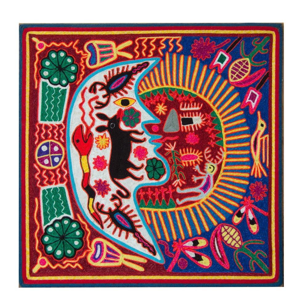 Huichol Style Wall Piece
