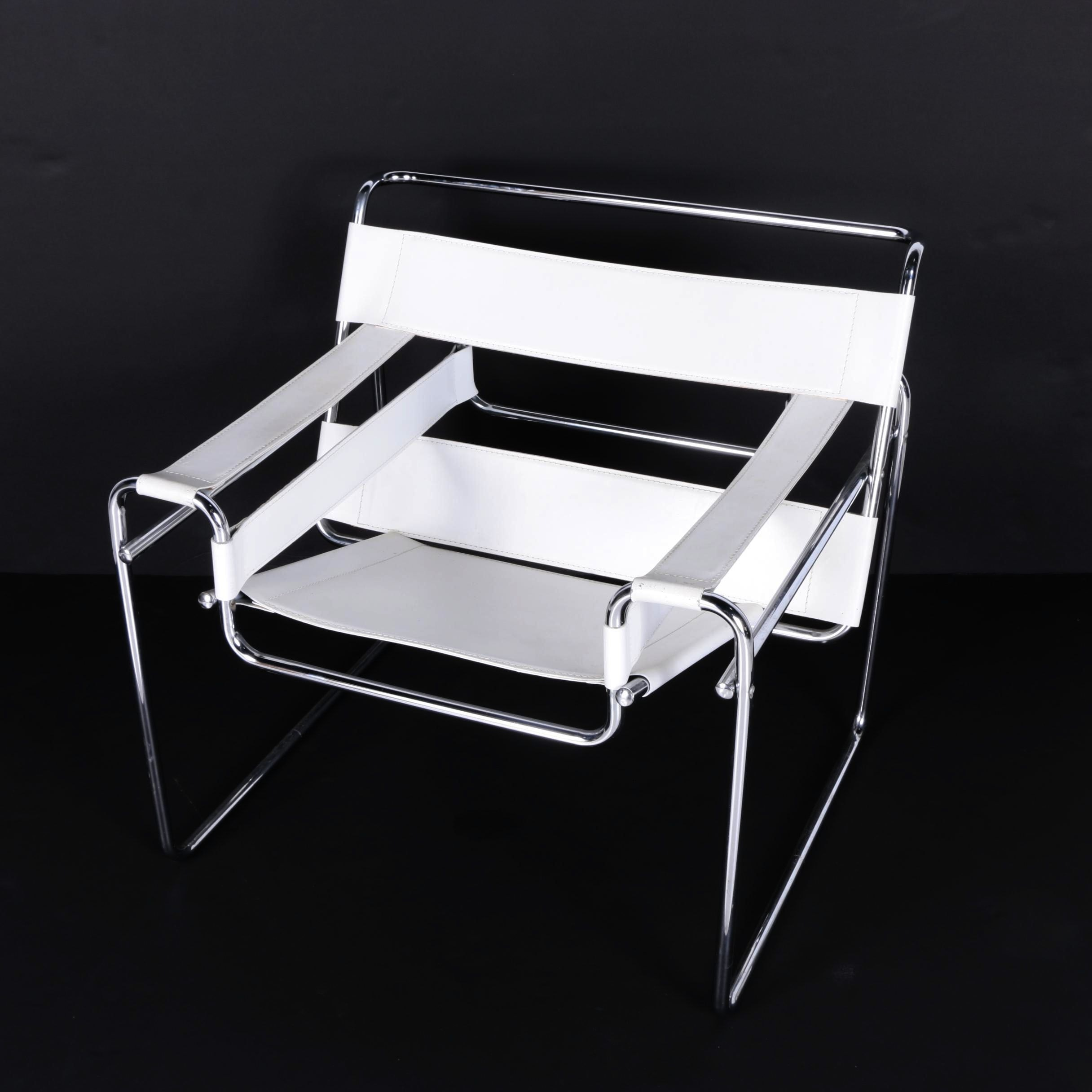 """""""Wassily"""" Style Chair After a Design by Marcel Breuer"""