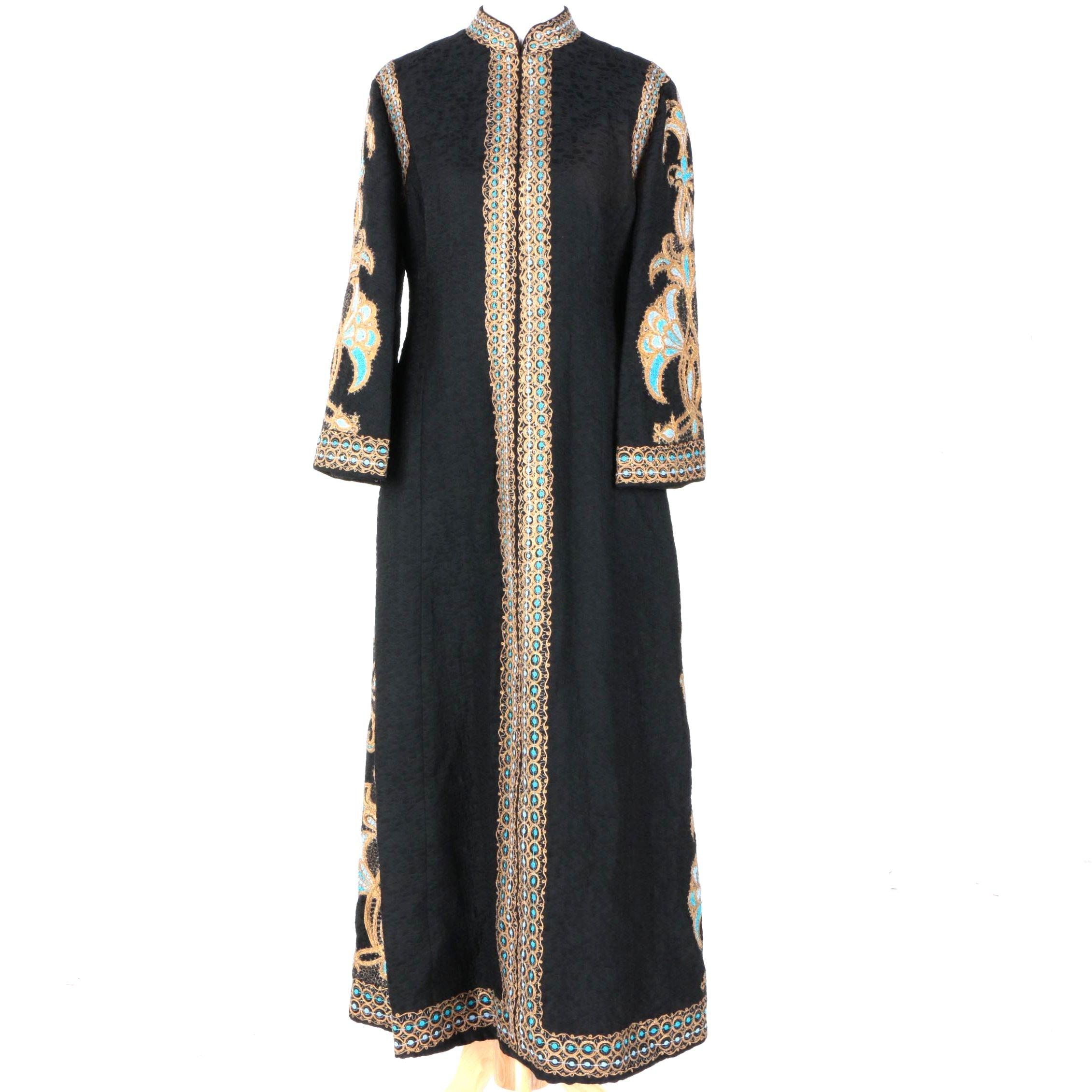 Vintage Miss Egypt Full Length Dress