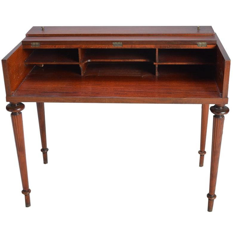 Vintage Mahogany Spinet Desk