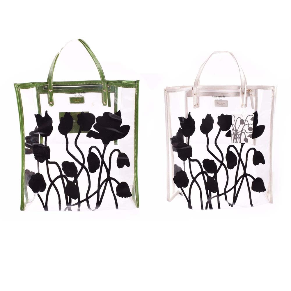 Kate Spade Clear Tote Bags