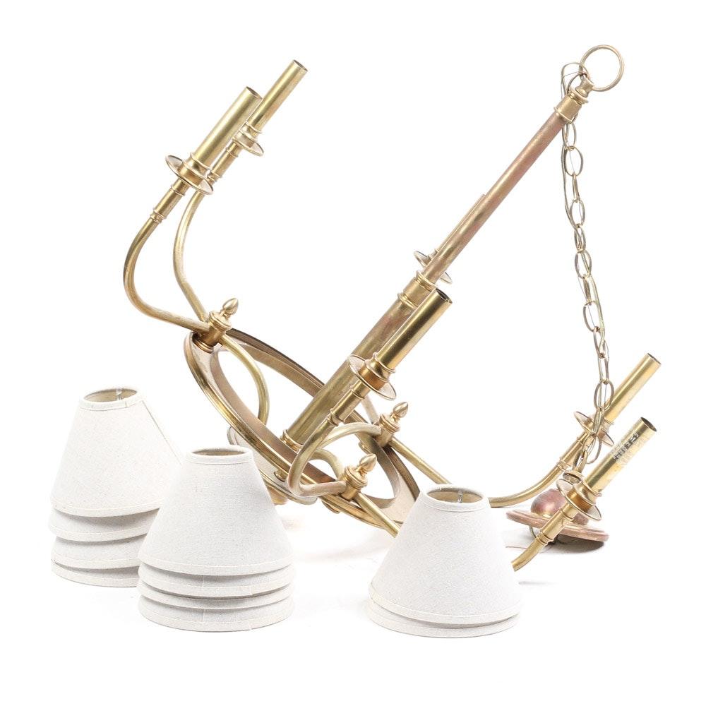 Brass Chapman Chandelier