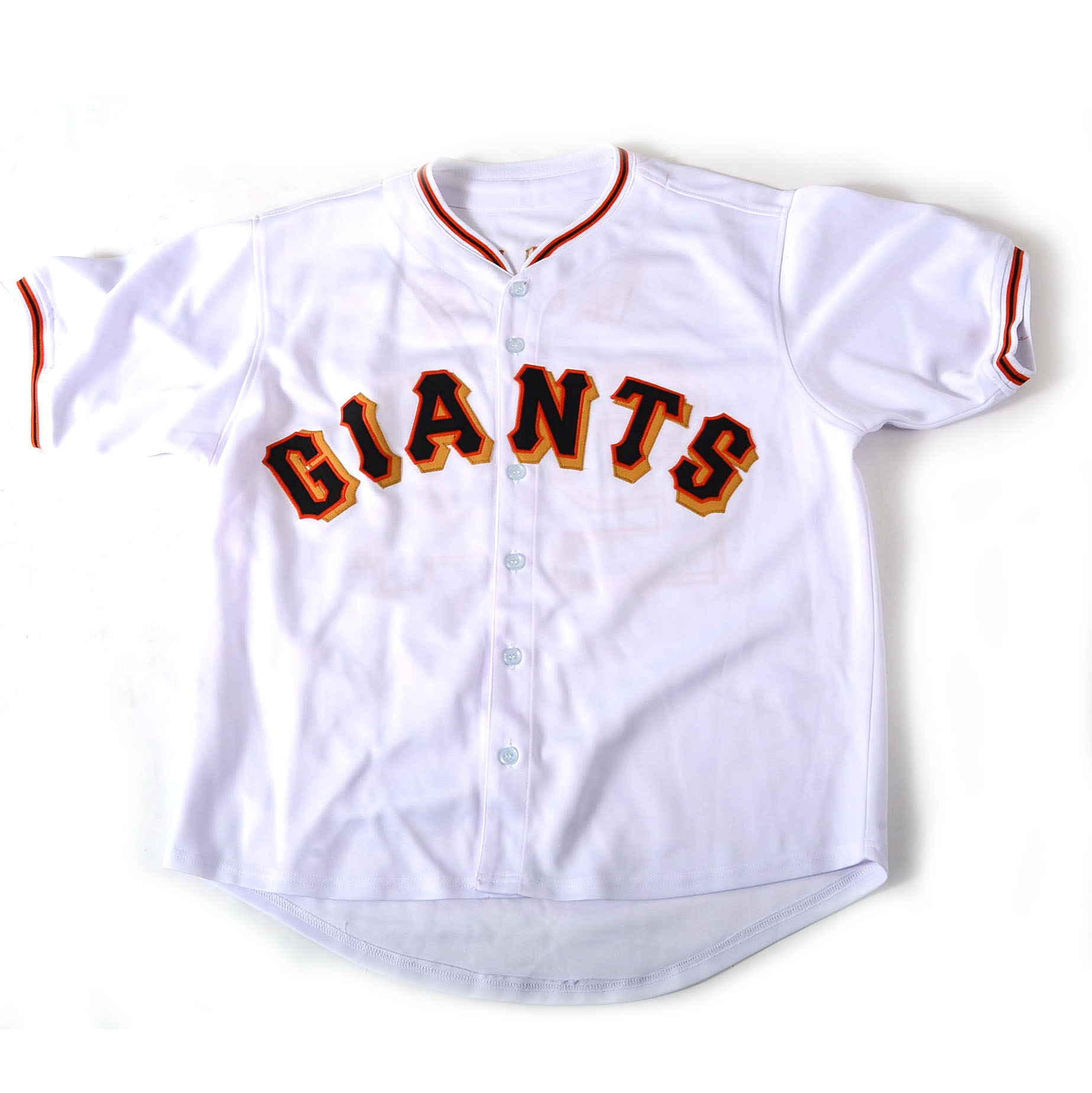 Willie Mays Signed Jersey  COA