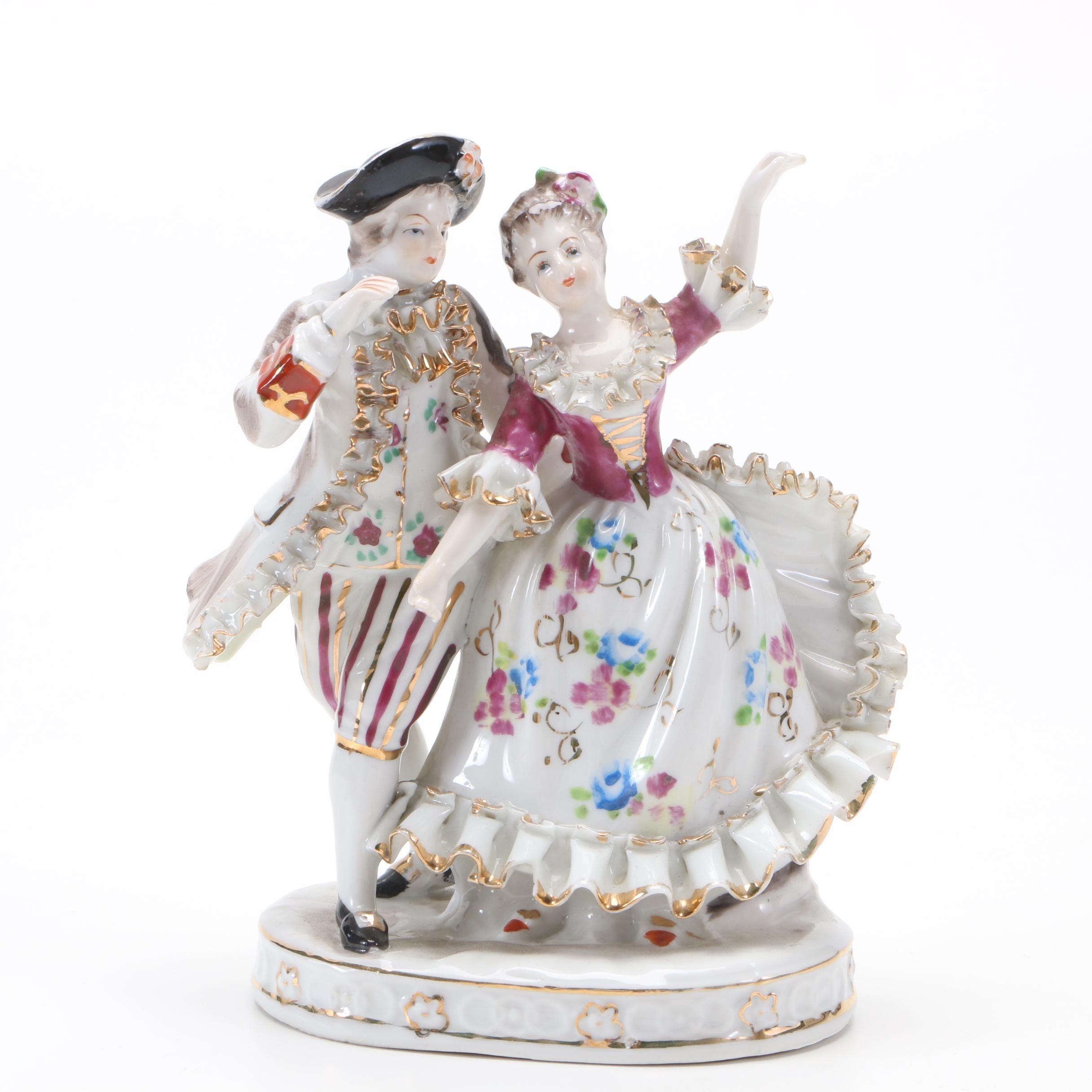Dresden Style Porcelain Figurine