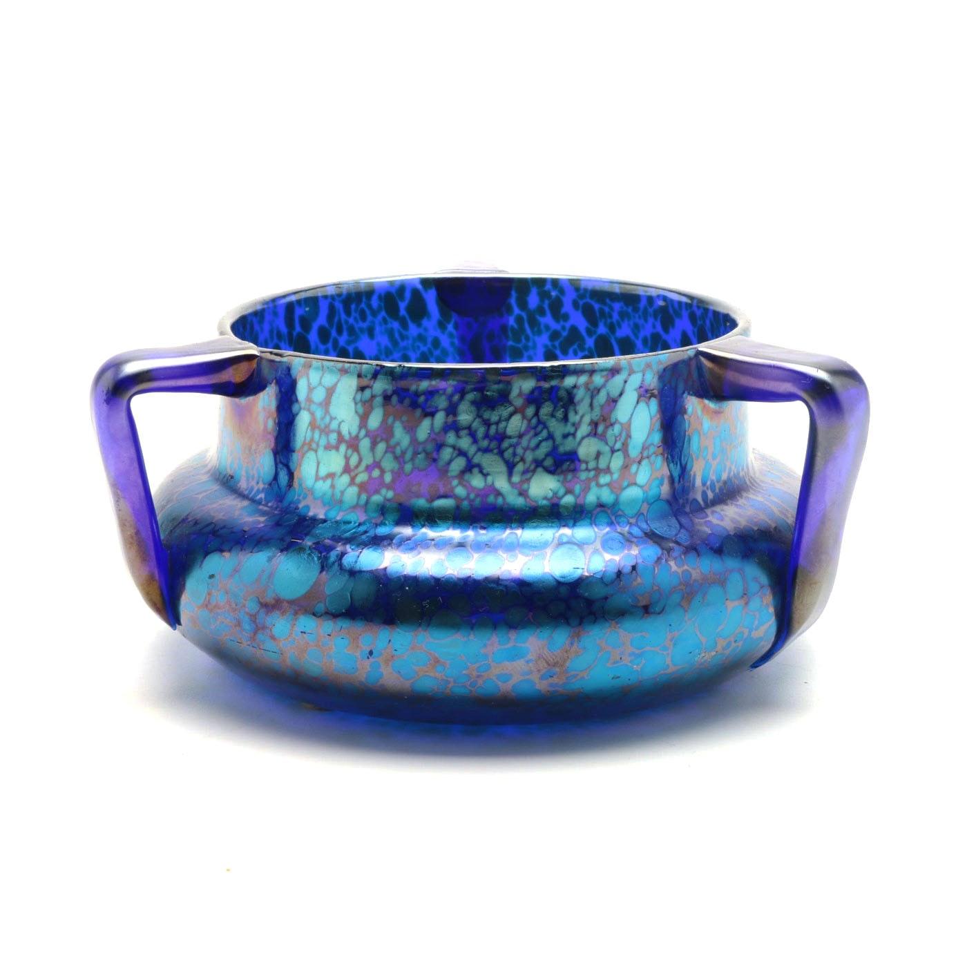 Early 20th Century Loetz Art Glass Vessel