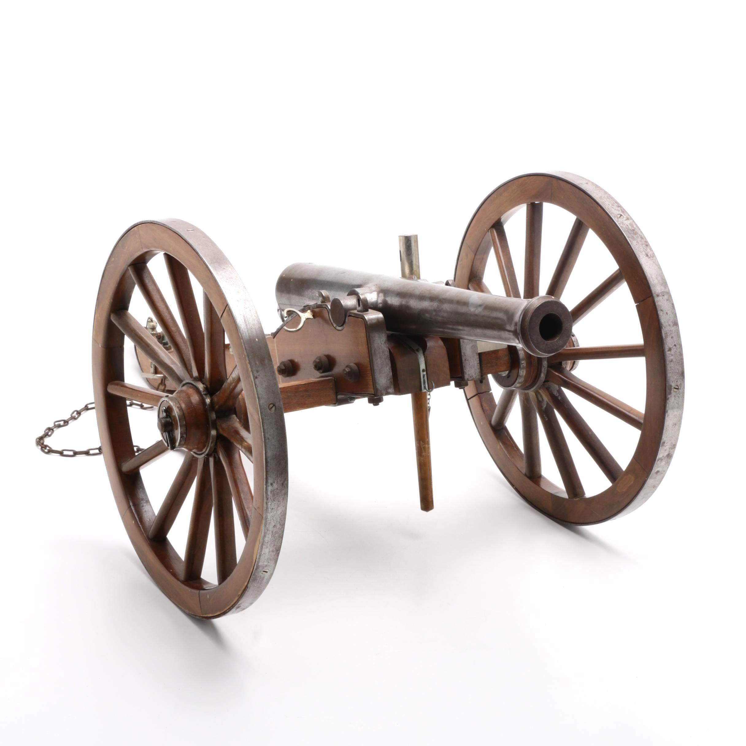 Jukar Spain .70 Cal Black Powder Civil War Model Cannon