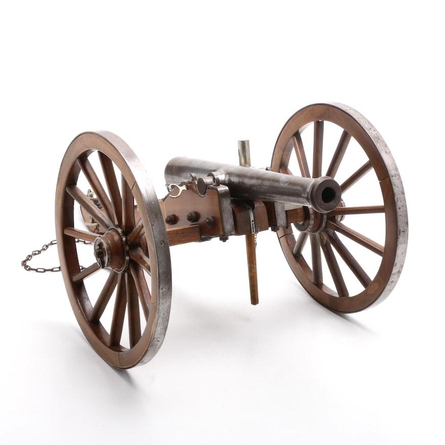 Jukar Spain  70 Cal Black Powder Civil War Model Cannon
