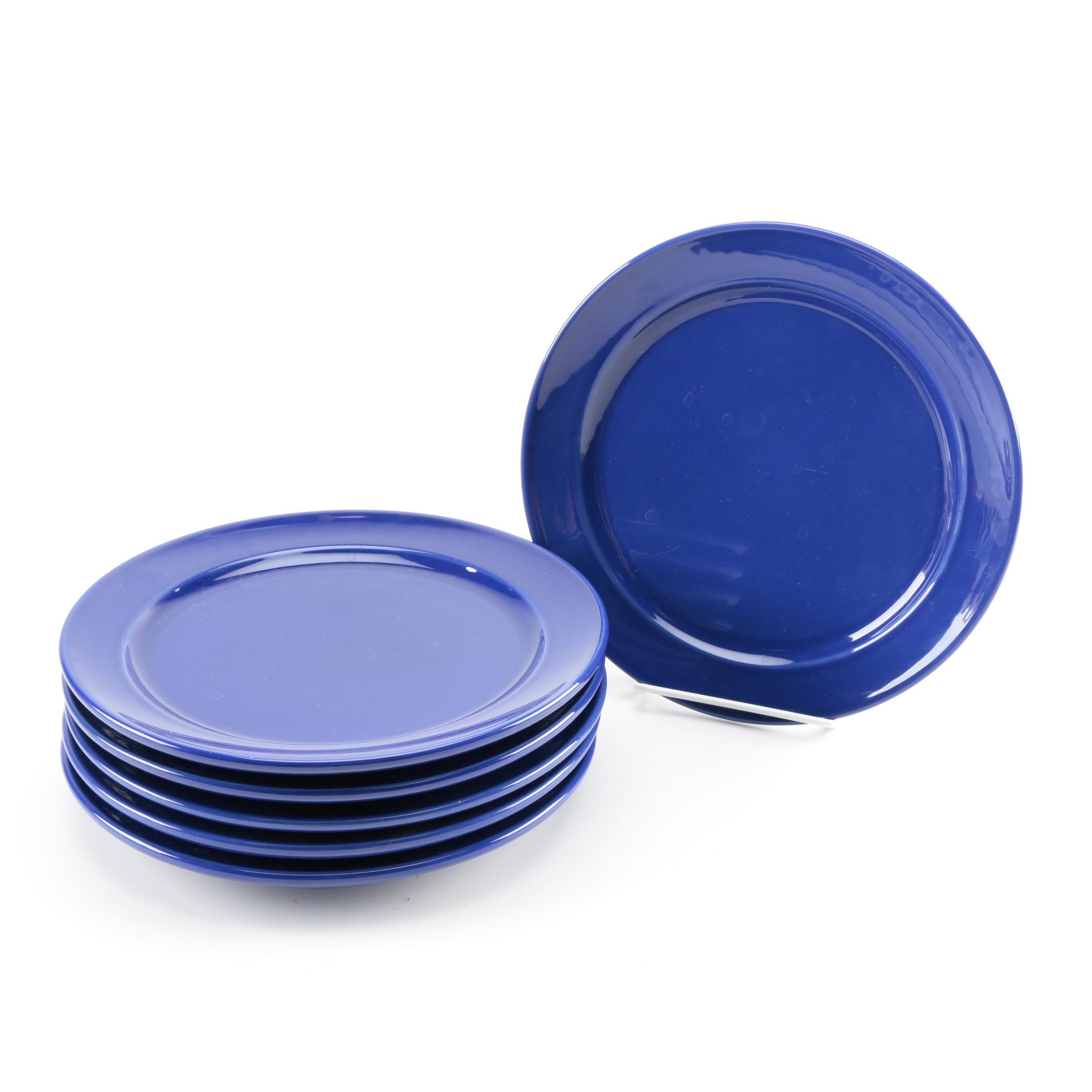 Emile Henry  Azur  Ceramic Salad Plates ...  sc 1 st  EBTH.com & Emile Henry