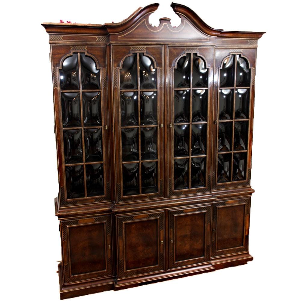 "Drexel Heritage ""Connoisseur"" Breakfront Cabinet"